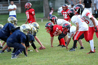 Paxton Peewee / New Cumberland Scrimmage 9/5/12